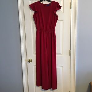 Apt 9 Red Jumpsuit size small